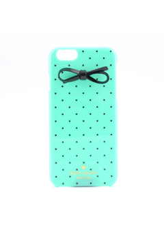 【iPhone6・6s専用】Resin Iphone 6 Case Tiny Gold Dot Bow