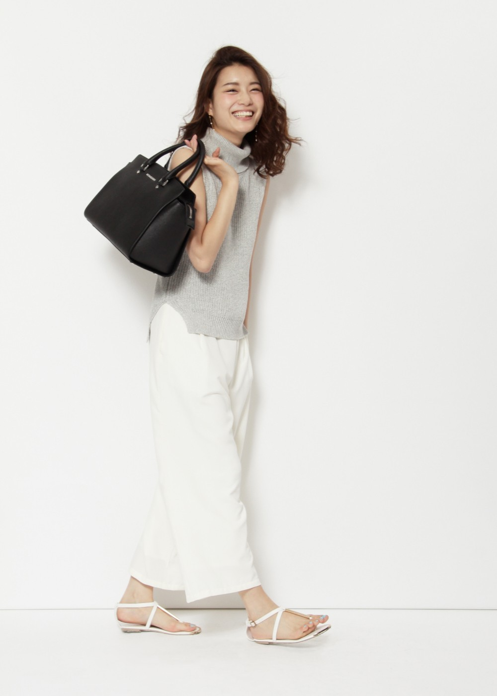 Large Top Zip Satchel|Black|ハンドバッグ|MICHAEL KORS|最大39%OFF