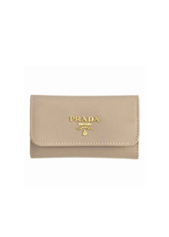 PRADA - Wallet Collection - - SAFFIANO METAL ORO / キーケース 【CAMEO】
