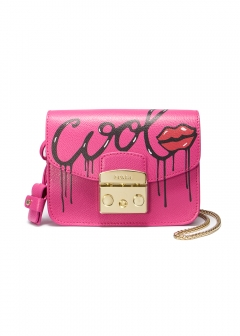 METROPOLIS MANIA MINI/CHAIN SHOULDER BAG【PINKY】