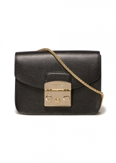 METROPOLIS MINI/CHAIN SHOULDER BAG【ONYX】