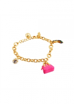 Multi チャーム付 ブレスレット How Charming Classic Kate Charm Bracelet