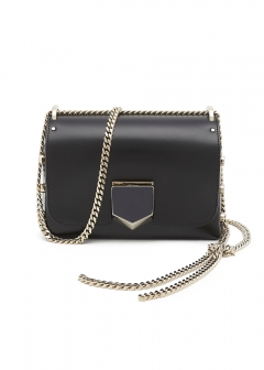 LOCKETTPETITE/CHAIN SHOULDER BAG 【BLACK/CHROME】