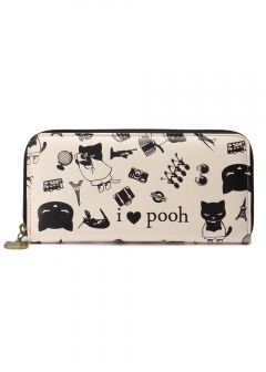Buyers select - Stole & Wallet - I love pooh ウォレット【トラベル】