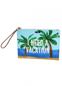 kate spade new york - 【3/8 PRICE-DOWN】Breath Of Fresh Air Vacation Medium Bella Pouch