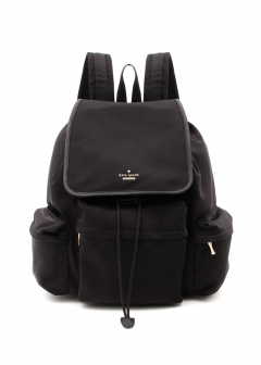 【kate spade】CLASSIC NYLON CLAY バックパック【Black】