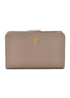 PRADA - Wallet Collection - - 二つ折り財布 / SAF.METAL ORO 【CAMEO】
