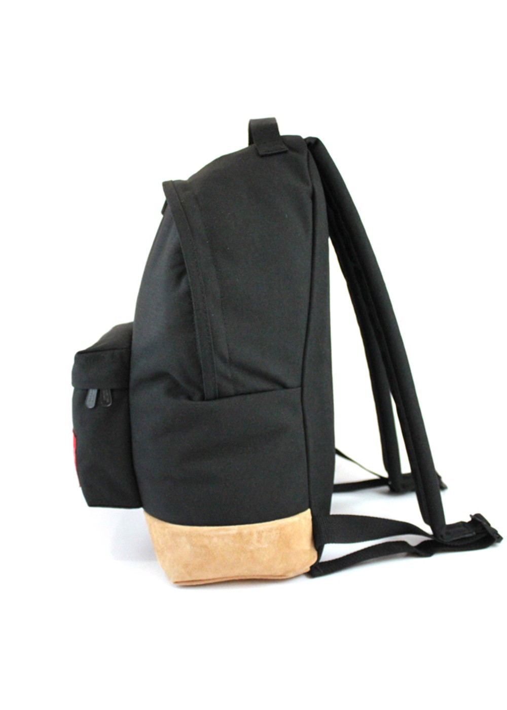 Suede Fabric Big Apple Backpack|ブラック|バックパック・リュック|Manhattan Portage
