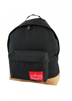 Suede Fabric Big Apple Backpack