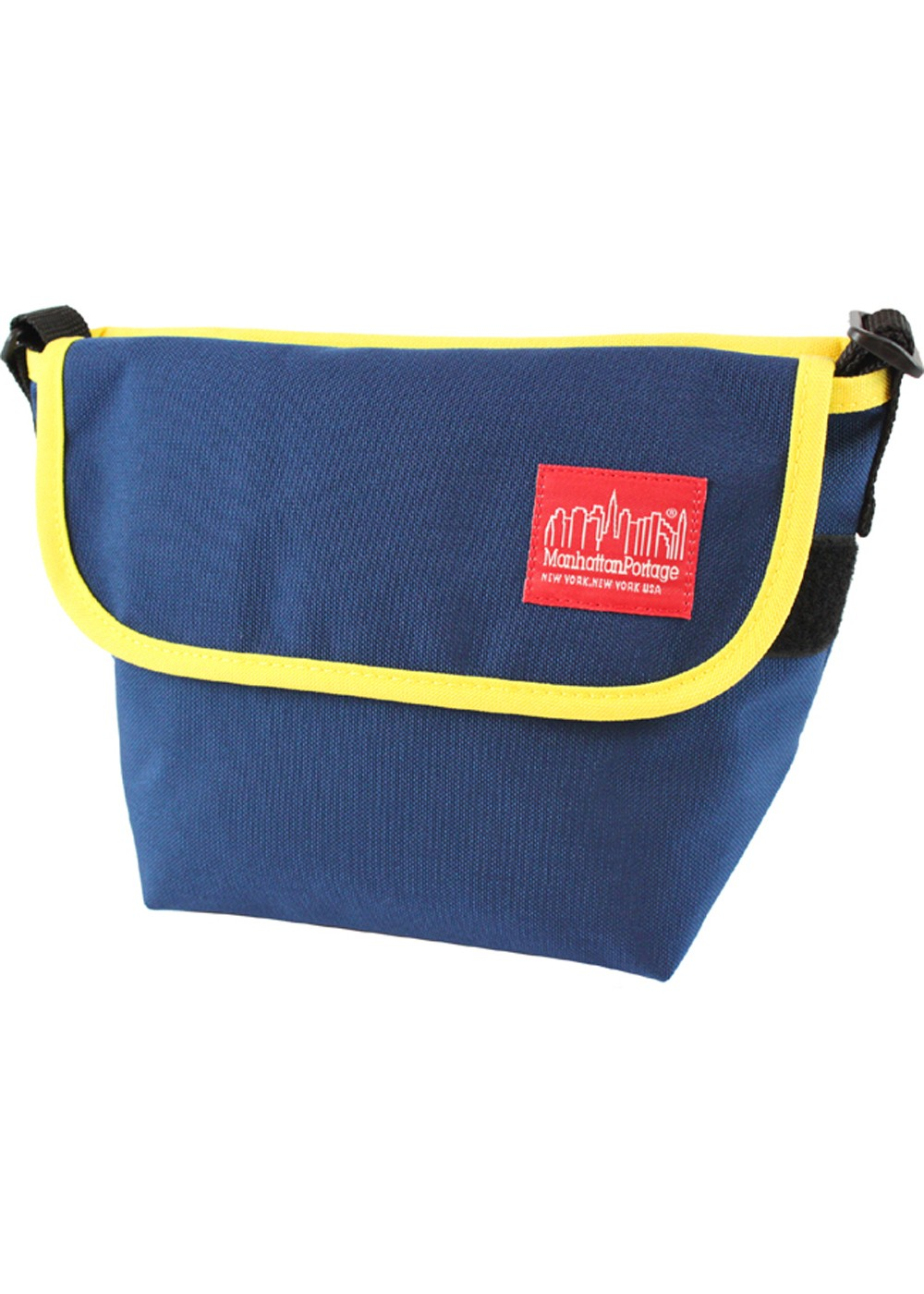Casual Messenger Bag|ネイビー/YEL|メッセンジャーバッグ|Manhattan Portage
