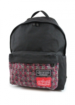 Manhattan Portage - LINTON fabric Big Apple Backpack