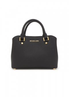 Small Satchel|Black|ハンドバッグ|MICHAEL KORS (N)