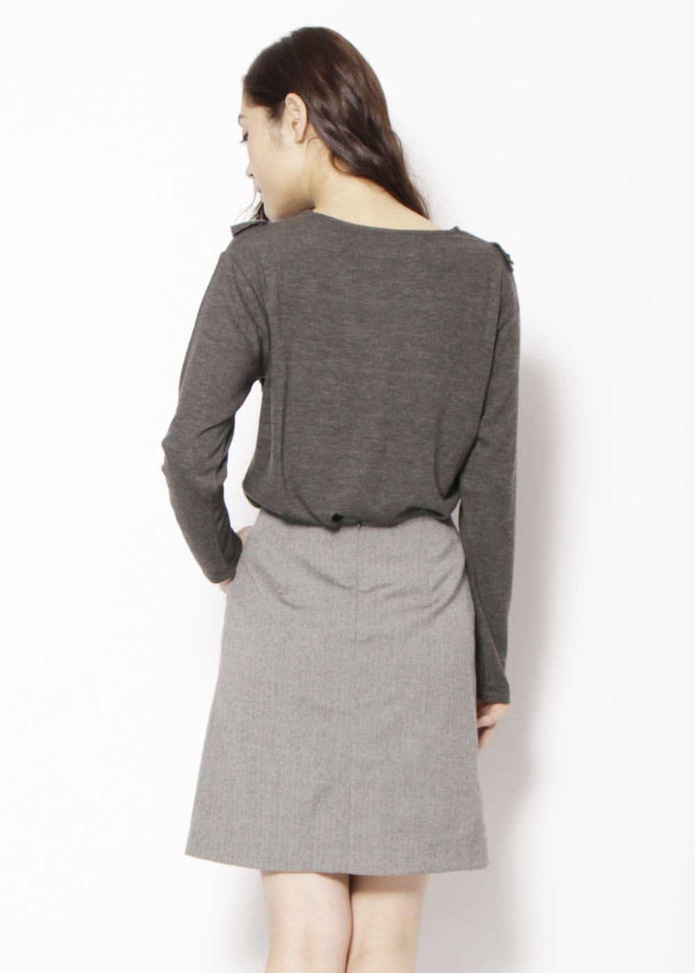 KBF+ フロントフリルカットソー|BROWN|Tシャツ|URBAN RESEARCH warehouse Tops&Outer|最大80%OFF
