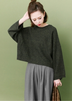 URBAN RESEARCH warehouse - Tops & Onepiece - WIDEスリーブニット
