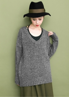 URBAN RESEARCH warehouse - Tops & Onepiece - Vネックネップニット
