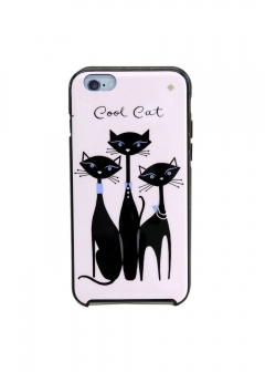 【iPhone 6 Plus/6S Plus専用】Jeweled Cool Cat IPhone 6plus