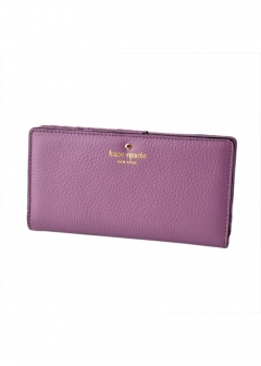 kate spade new york - 【3/8 PRICE-DOWN】COBBLE HILL stacy二つ折り長財布