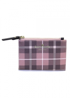 kate spade new york - Farimont Square Coriチェック柄 キーリング付 コインケース