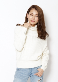 変形ボトルネックKNIT|OFF WHITE|ニット・セーター|URBAN RESEARCH warehouse Tops&Outer|最大80%OFF