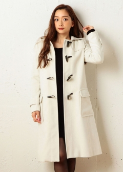 ROYAL PARTY / ROYAL PARTY LABEL / SPIRALGIRL / MIIA - 【ROYAL PARTY】ロングダッフルコート