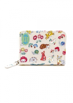 Zipped Travel Purse - O/C Forest Animals