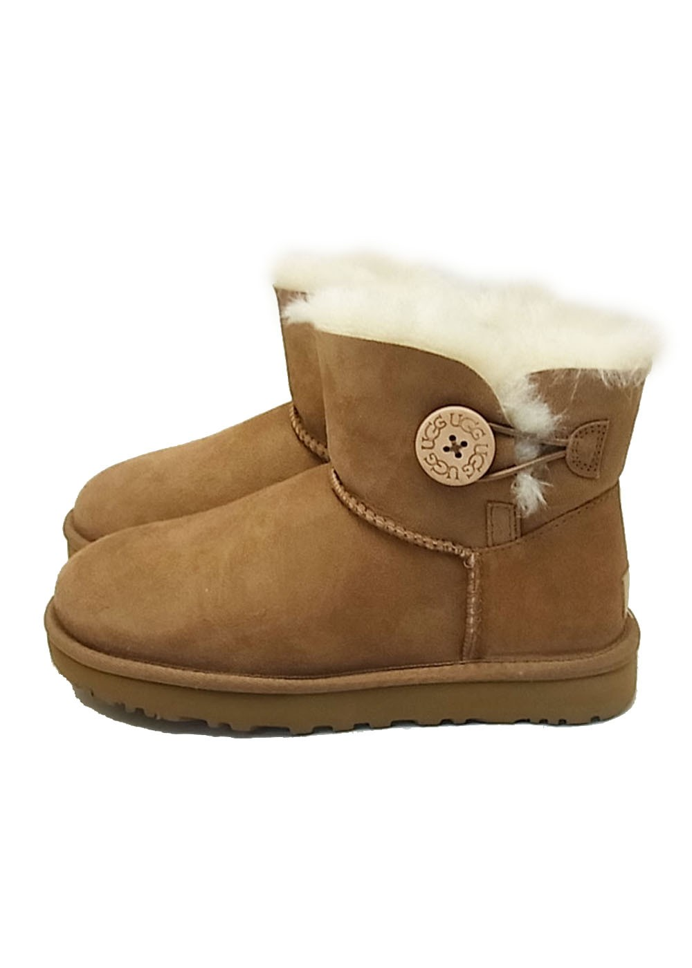 MINI BAILEY BUTTON  II|CHESTNUT|ブーツ|UGG|最大30%OFF