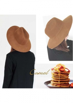 Wool Hat|Camel|その他|POMPADOUR|最大59%OFF
