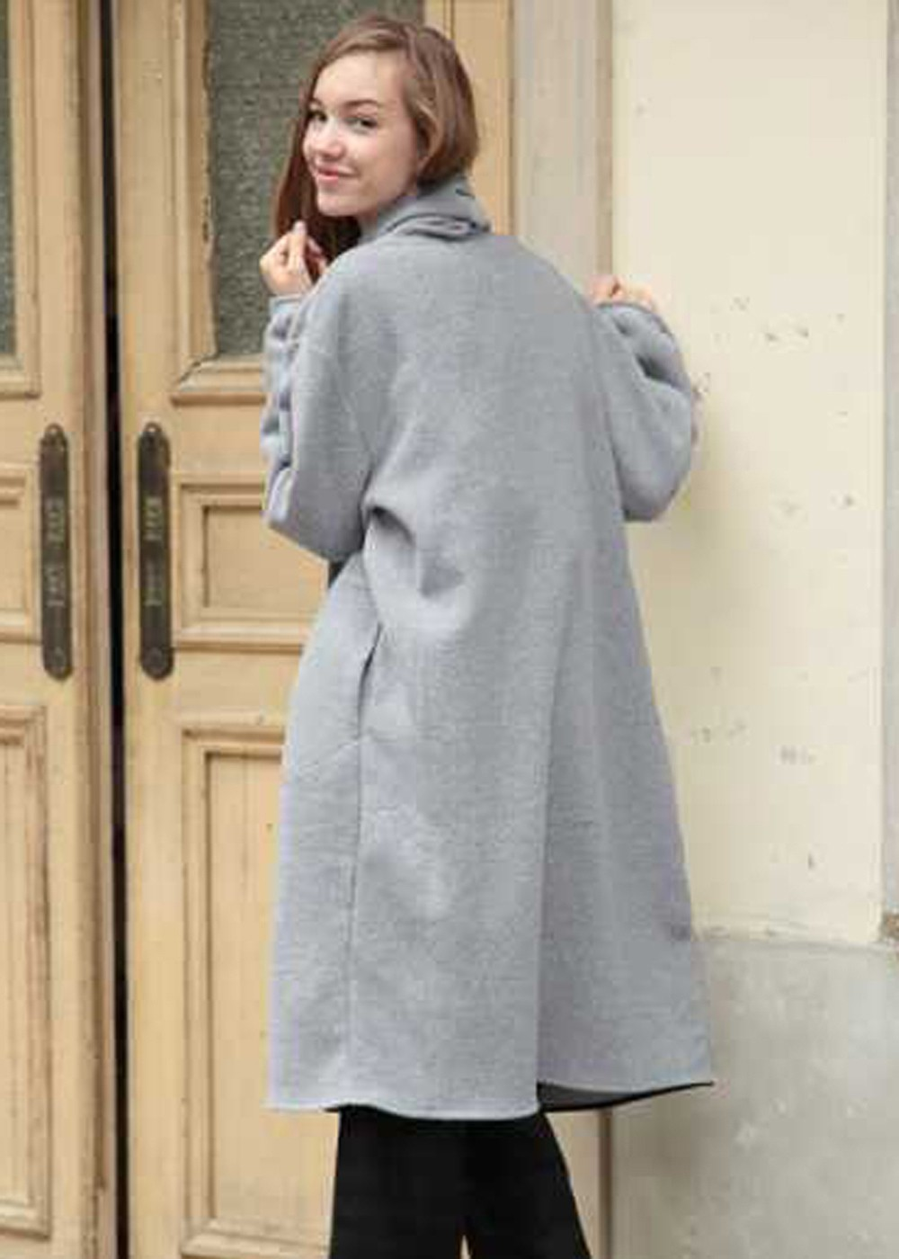 Pile Boucle Cardigan|Gray|その他|POMPADOUR|最大59%OFF