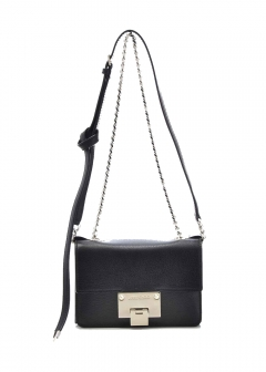 REBELSOFTMI / ショルダーBAG 【BLACK/CHROME】