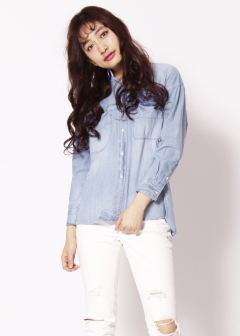 Moname / JIMMY TAVERNITI,TAVERNITI SO JEANS - 【3/15新着】デニムビッグシャツ