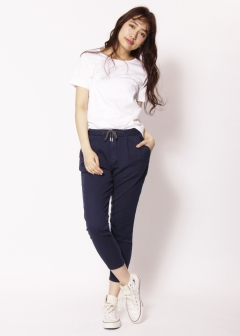 Moname / JIMMY TAVERNITI,TAVERNITI SO JEANS - 【3/15新着】JIMMY TAVERNITI DENIT 2tuck Pants