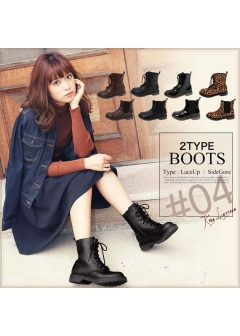 KOBE LETTUCE -Fashion Goods- - 2タイプブーツ