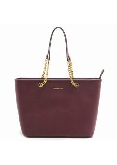【3/2 PRICE-DOWN】TZ MULT FUNT TOTE PLUM