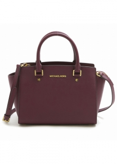 MD TZ SATCHEL PLUM