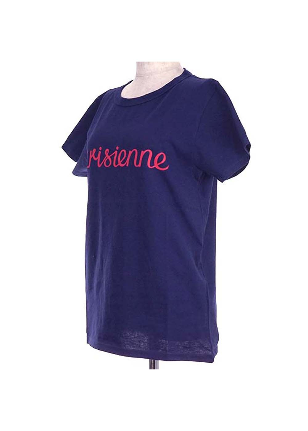【最大35%OFF】TEE SHIRT PARISIENNE|DARK BLUE|Tシャツ|MAISON KITSUNE