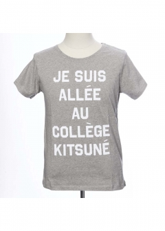 【WOMENS】PERM TEE SHIRT JE SUIS ALLEE