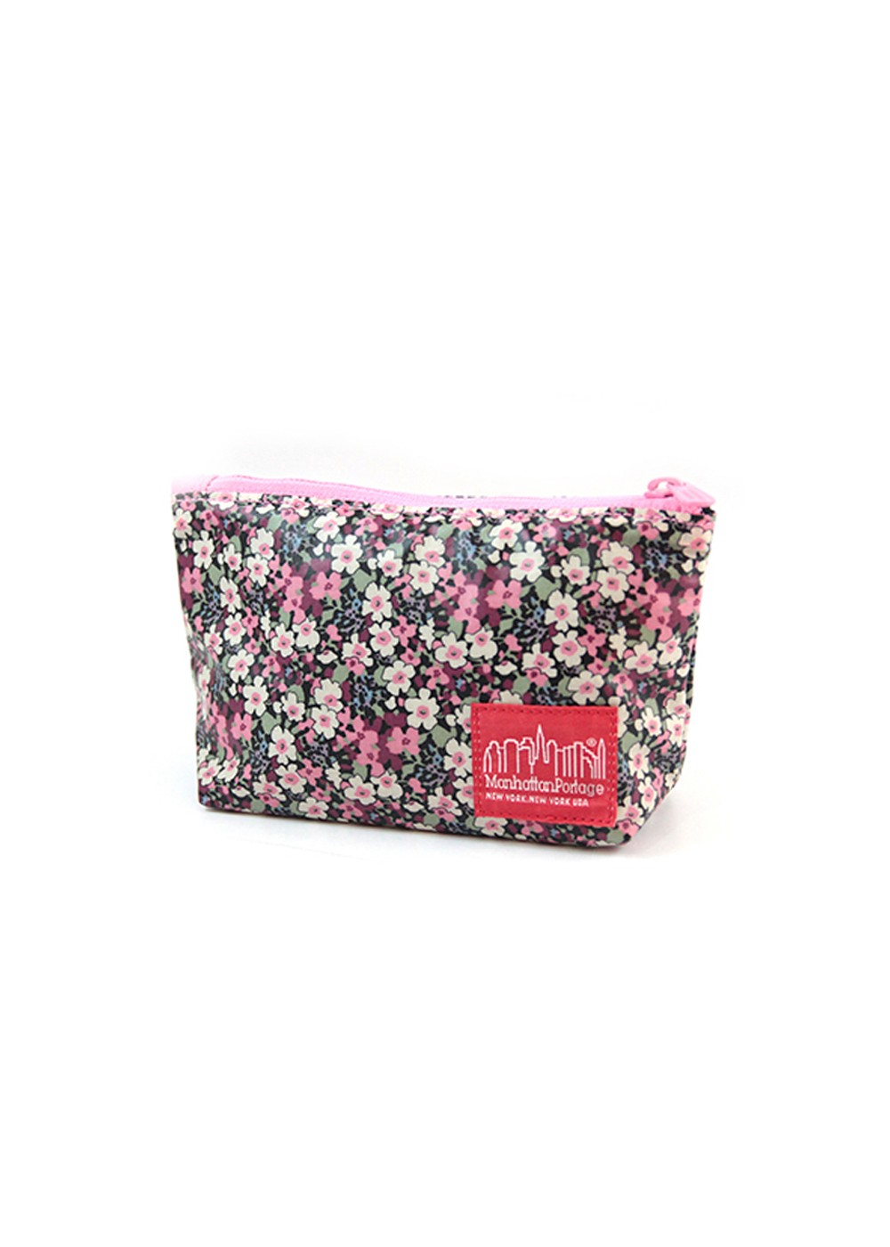 【5/15新着】Liberty Art Fabric Nylon Clutch|ブラック/ピンク|ポーチ|Travel &  Resort