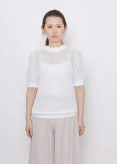URBAN RESEARCH warehouse - Tops & Onepiece - CF ボールメッシュセーター(5分袖)
