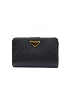 PRADA - Wallet Collection - - 二つ折り財布 / SAF.TRIANGOLO 【NERO】