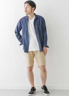 URBAN RESEARCH warehouse - mens - 麻ショートパンツ