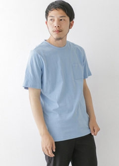 URBAN RESEARCH warehouse - mens - C/N裾プリントTEE
