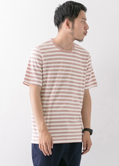 URBAN RESEARCH warehouse - mens - Border C/N TEE