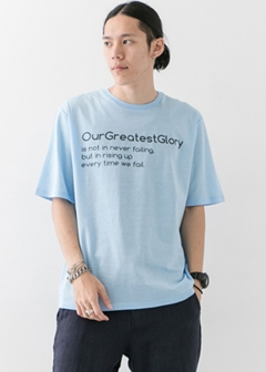 URBAN RESEARCH warehouse - mens - ペーパー天竺プリントTEE B