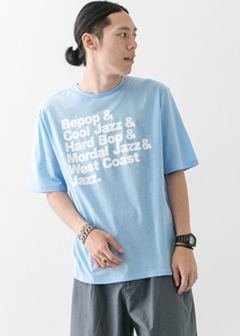 URBAN RESEARCH warehouse - mens - ペーパー天竺プリントTEE A