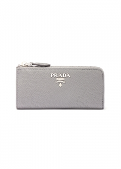 PRADA - Wallet Collection - - SAF.METAL ORO / キーリング付き コインケース 【MARMO】