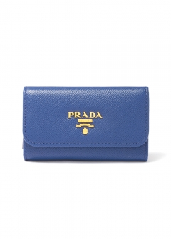 PRADA - Wallet Collection - - SAFFIANO METAL ORO / キーケース 【BLUETTE】