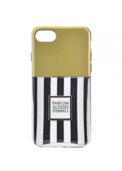 【iPhone8/iPhone7 対応】 パフュームボトルシリーズ Parfum au Portable Stripes