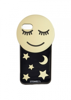【iPhone8/iPhone7 対応】 Round Case Golden Smiley