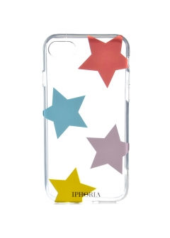 【iPhone8/iPhone7 対応】 クリアケース Jewelry Case Multicolour Stars