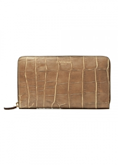 Large Zip Wallet taupe